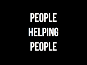 people helping people.001
